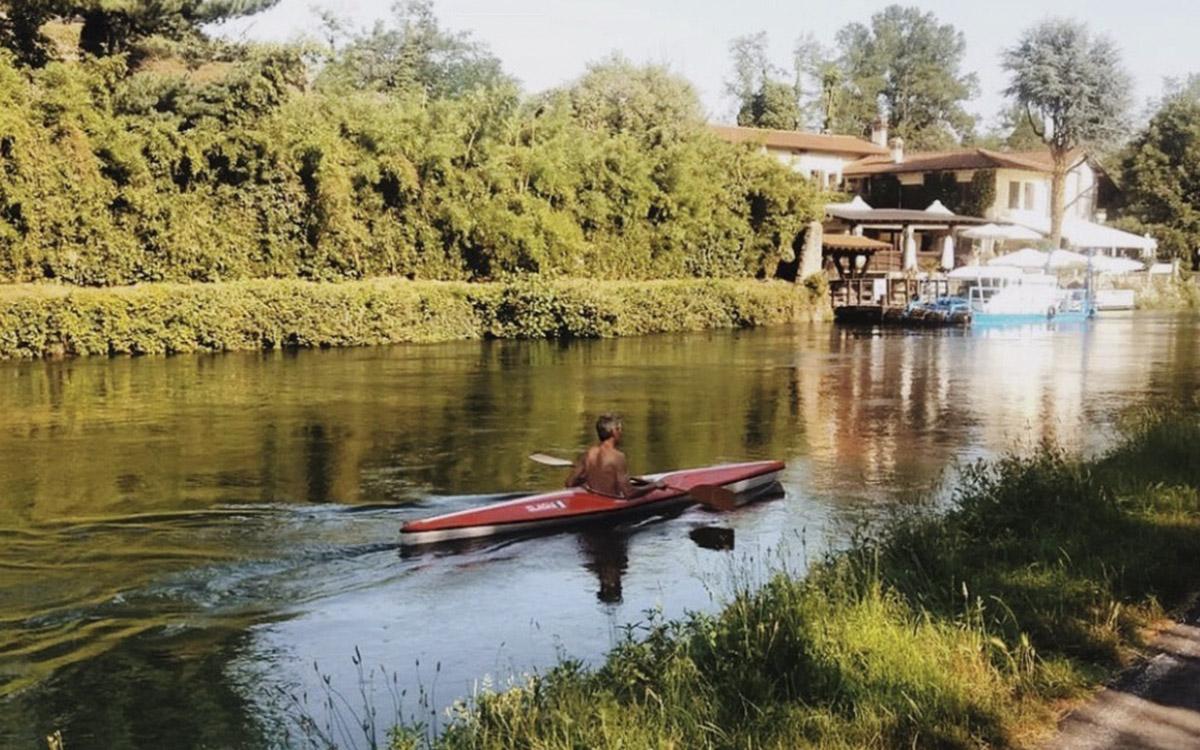 canoa Castelletto di Cuggiono b&b Funtanin