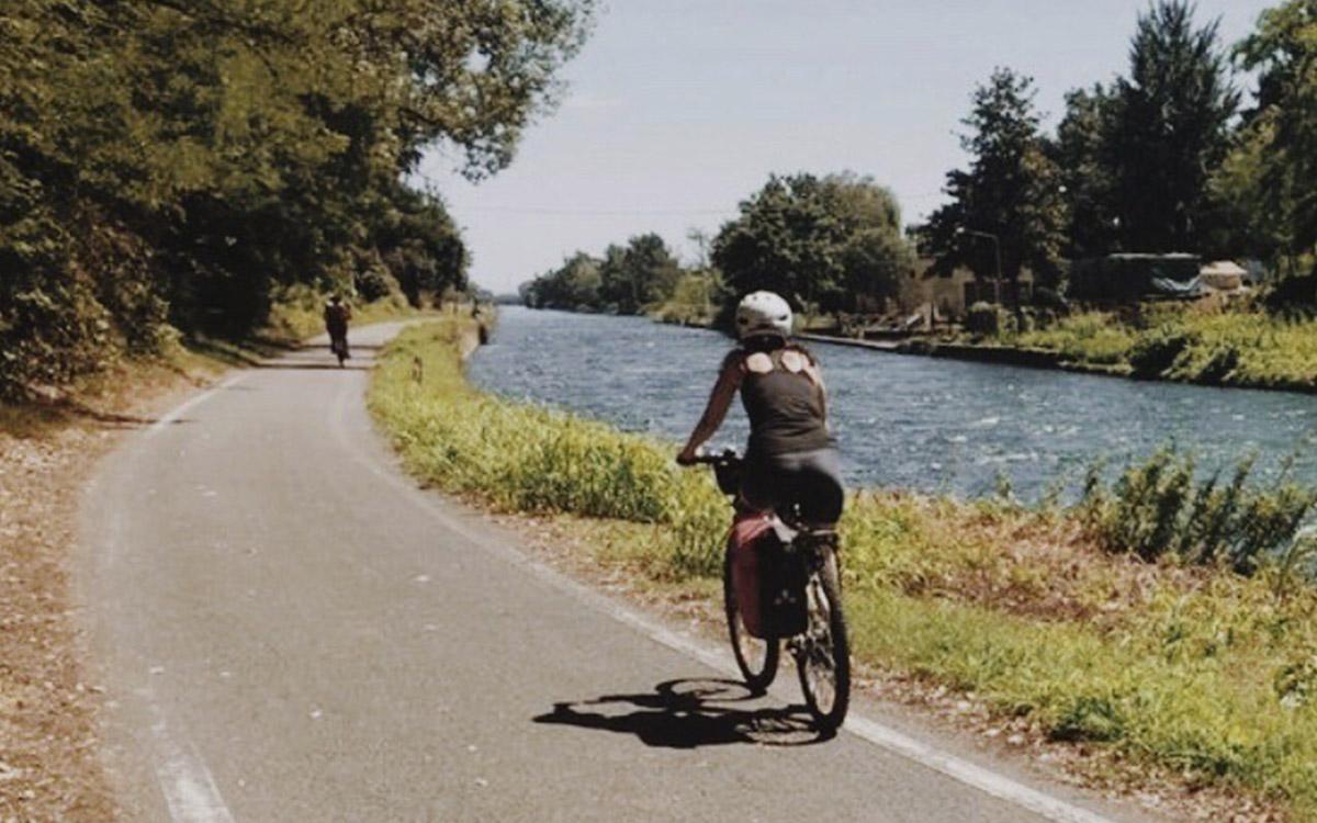percorsi per ciclisti immersi nella natura Funtanin