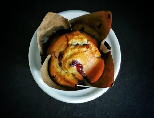 Muffin ai mirtilli con gocce di cioccolato : ricetta di Karen per Funtanin